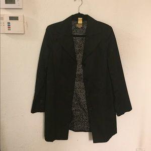 Caslon long Suit Coat black, size M